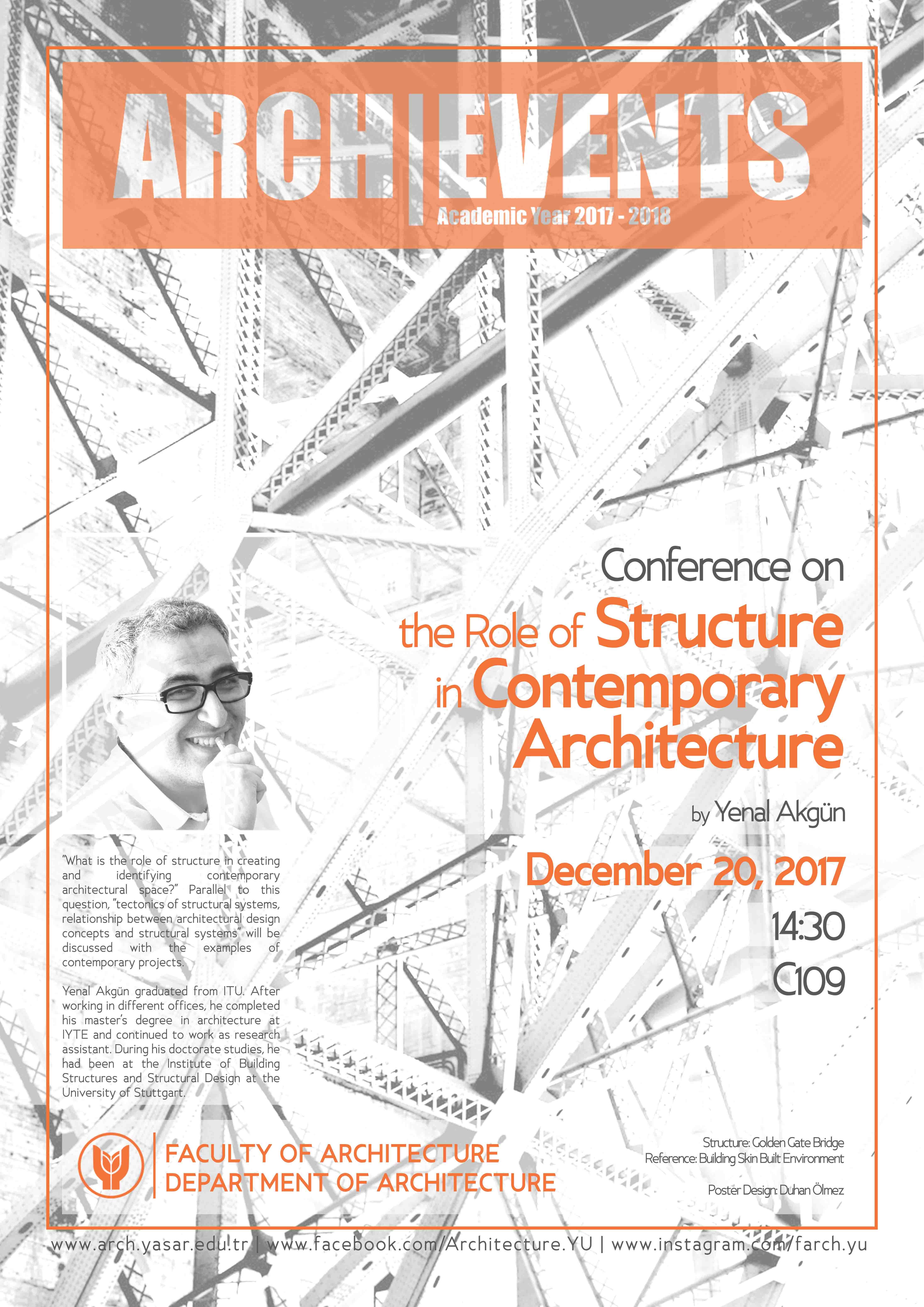 Conference_YenalAkgunTheRoleOfStructureInCreatingArchitecturalSpace