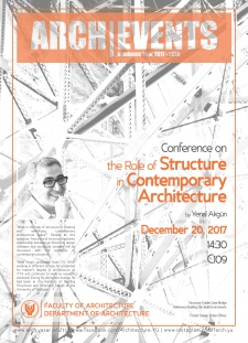 Conference_YenalAkgunTheRoleOfStructureInCreatingArchitecturalSpace