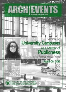 Seminar_BernaYaylaliYildiz_UniversityCampuses
